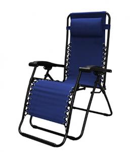 zero gravity chair blue