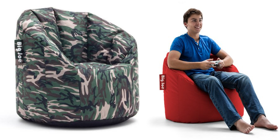 Bean Bag Furniture Is Always A Great Addition To Kids Rooms And Dorm WalMart Has The Big Joe Milano Chair Marked Down Only 2500 Right