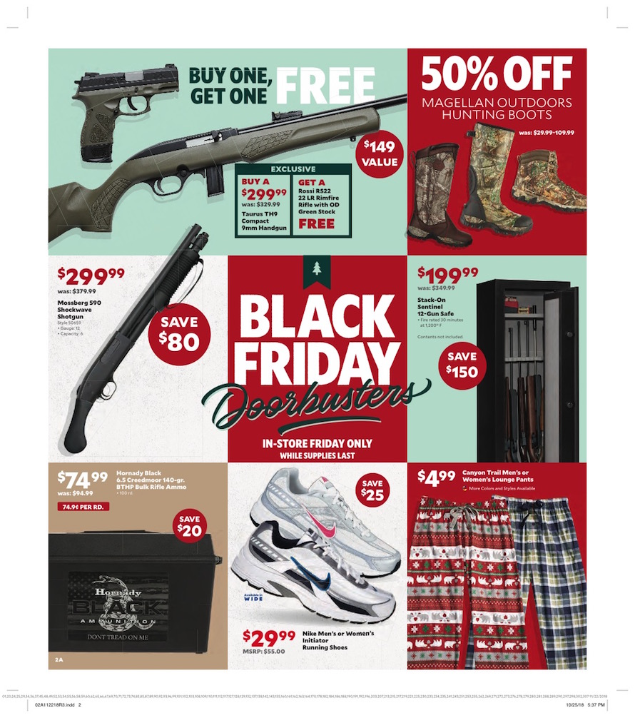 Academy Sports Black Friday Ad 2018 - Page 2