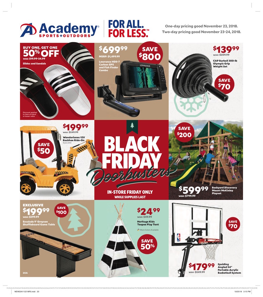Academy Sports Black Friday Ad 2018 - Page 20