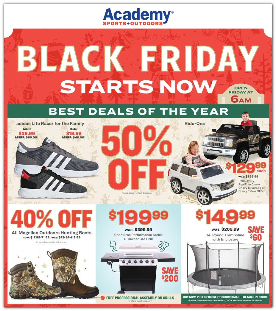 Academy Sports Black Friday 2019 Ad Is Here Freebies2deals