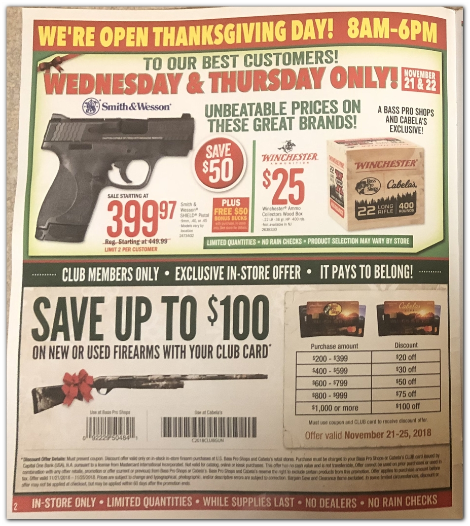 Bass Pro Shops Black Friday Ad 2018 - Page 2