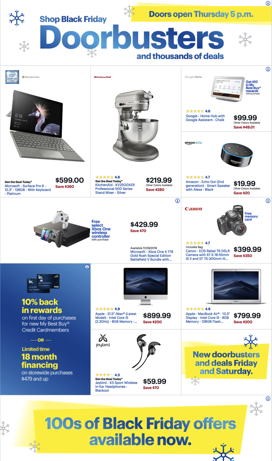 Best Buy Black Friday Ad 2018 - Page  (2)