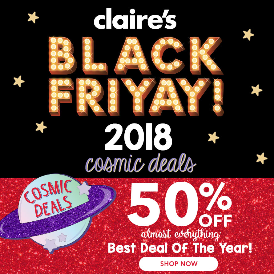 Claire's Black Friday Ad 2018 - Page  (1)