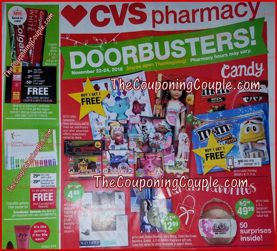 CVS Black Friday Ad 2018 - Page 1