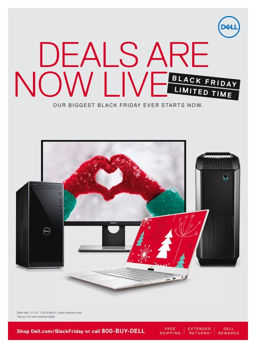 Dell Home Black Friday Ad 2018 - Page 1