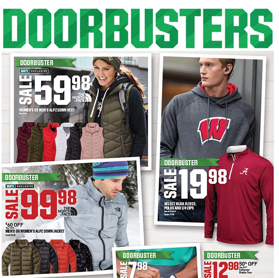 Dick's Sporting Goods Black Friday Ad 2018 - Page  (1)