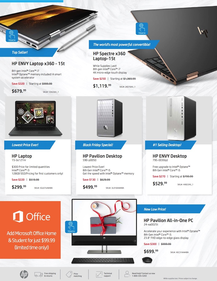 HP Black Friday Ad 2018 - Page  (2)