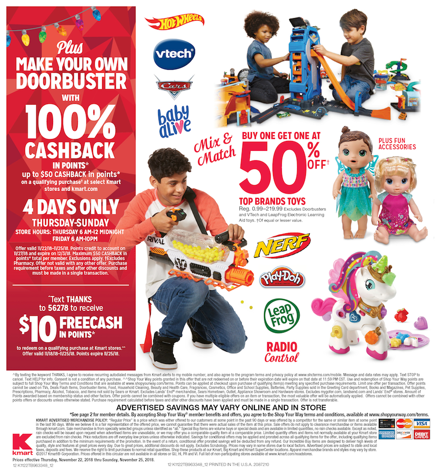 Kmart Black Friday Ad 2018 - Page  (12)