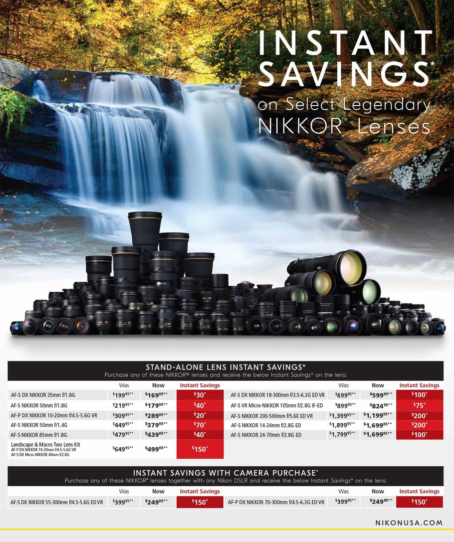 Nikon Black Friday Ad 2018 - Page 1