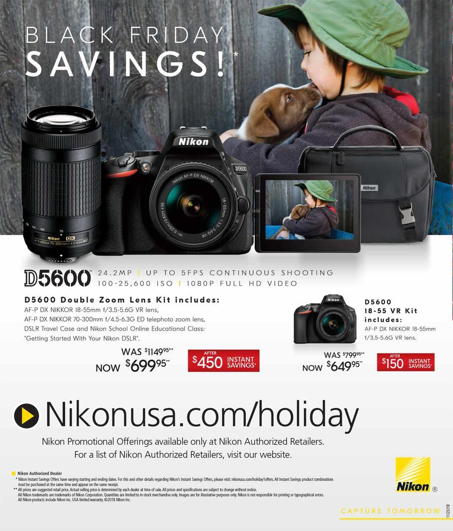 Nikon Black Friday Ad 2018 - Page 2