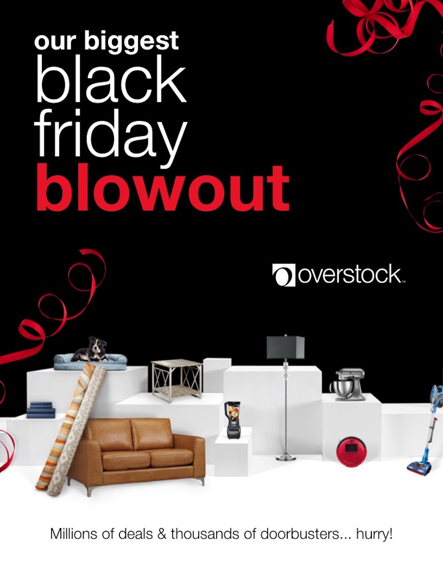 Overstock Black Friday Ad 2018 - Page 1