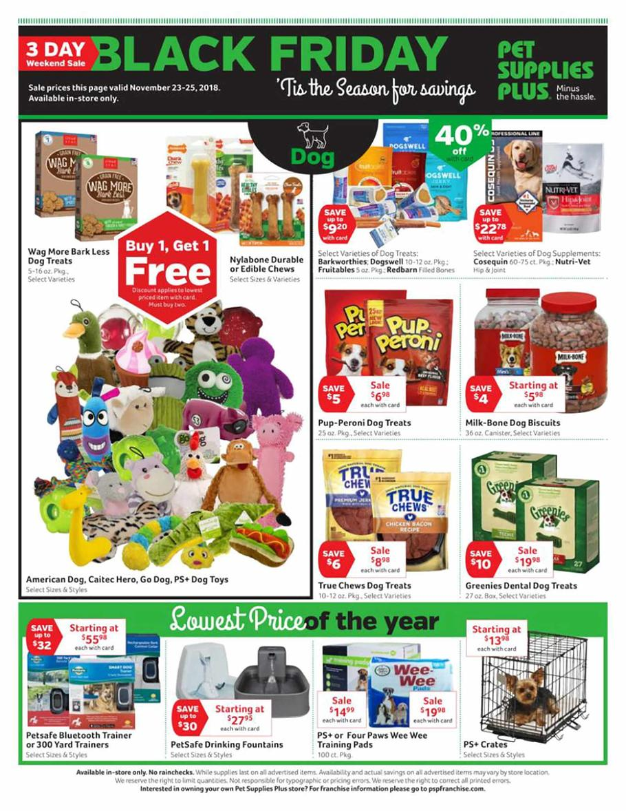 Pet Supplies Plus Black Friday Ad 2018 - Page 2