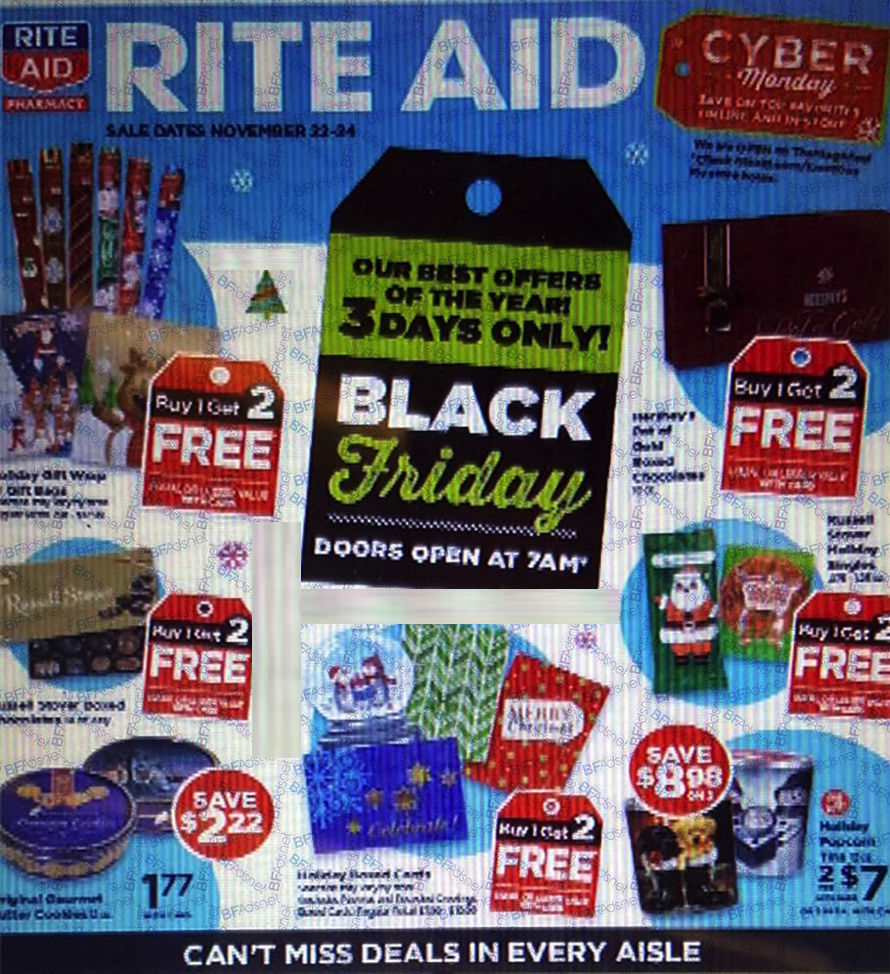 Rite Aid Black Friday Ad 2018 - Page 1
