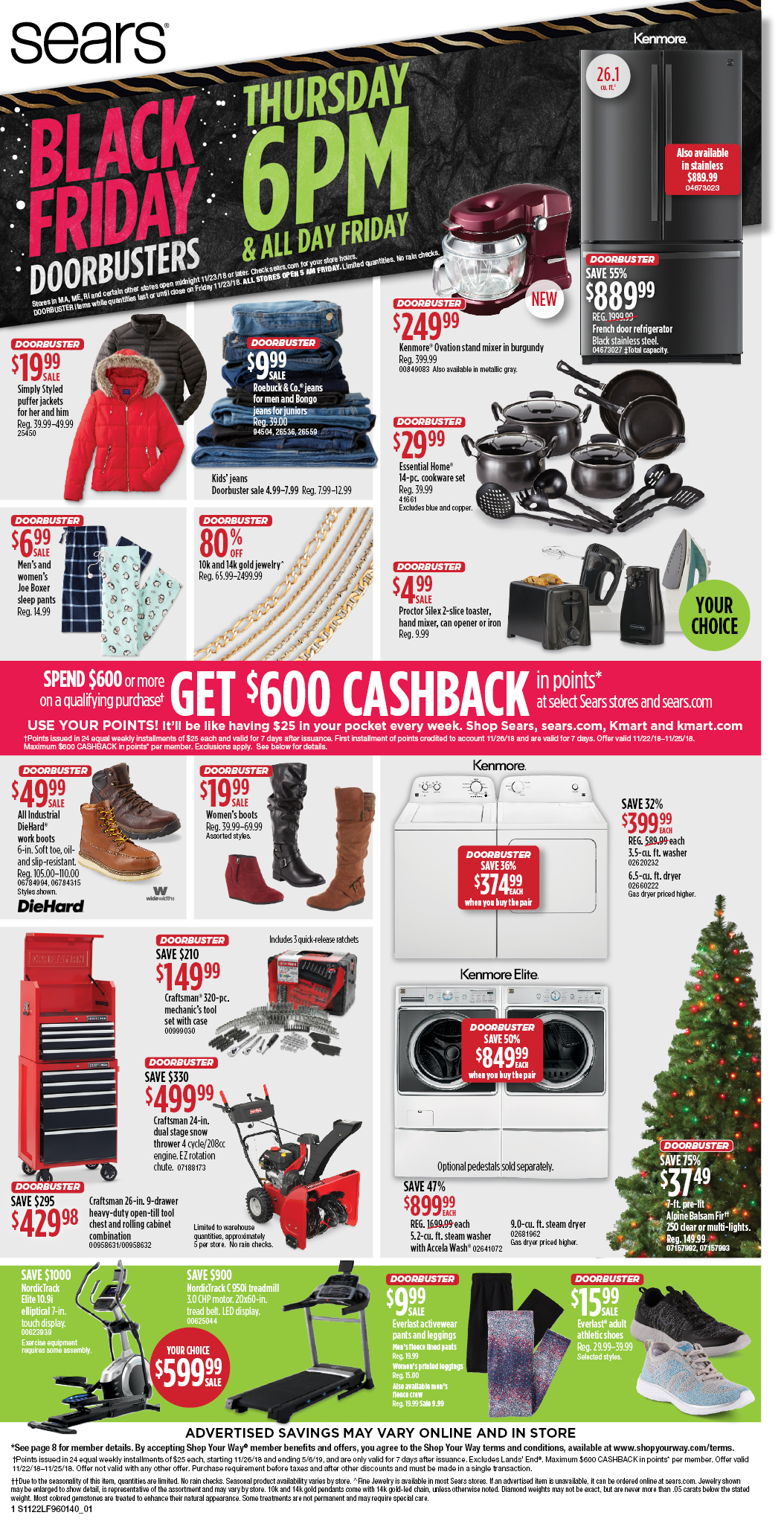 Sears Black Friday Ad 2018 - Page  (1)