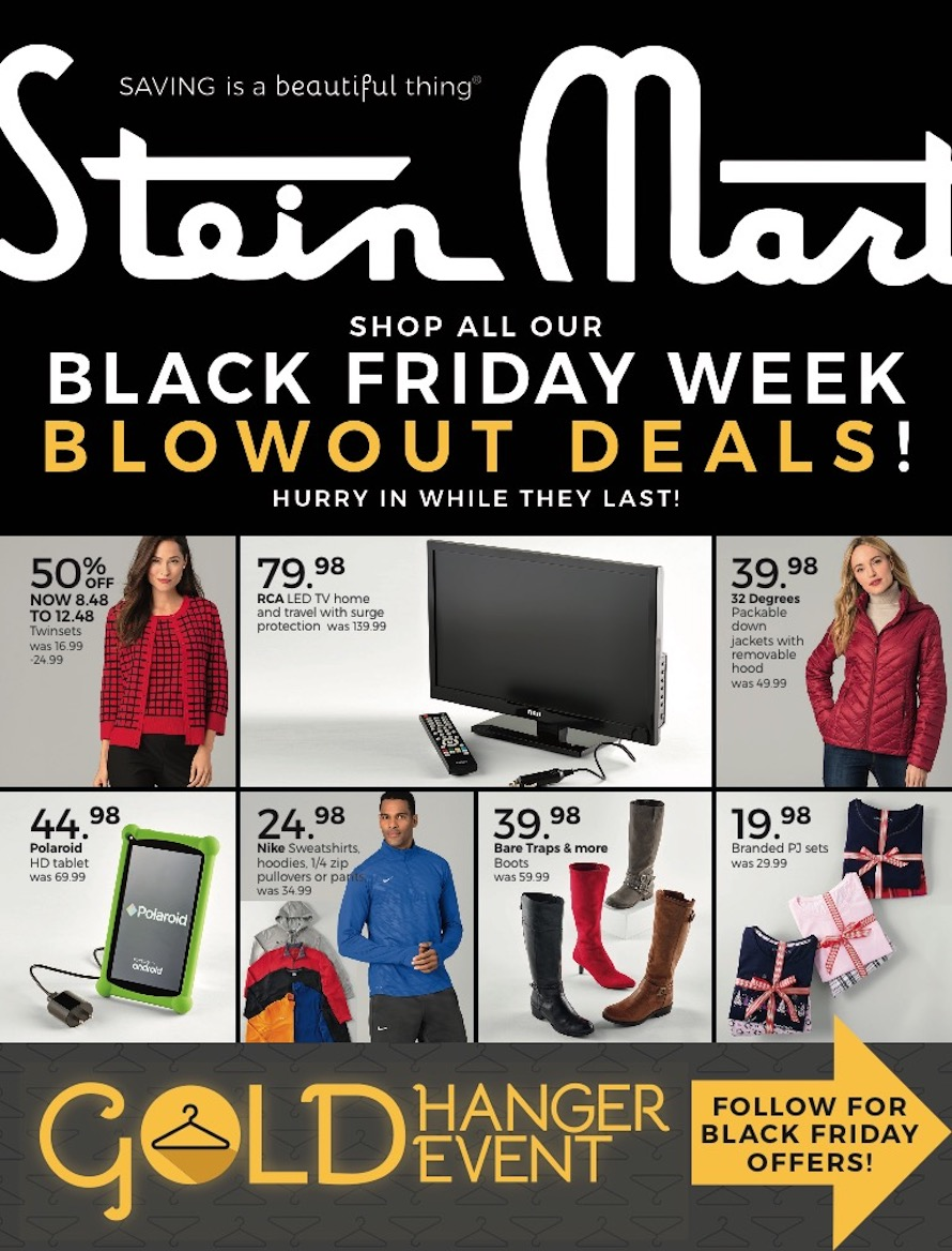 Stein Mart Black Friday Ad 2018 - Page  (1)