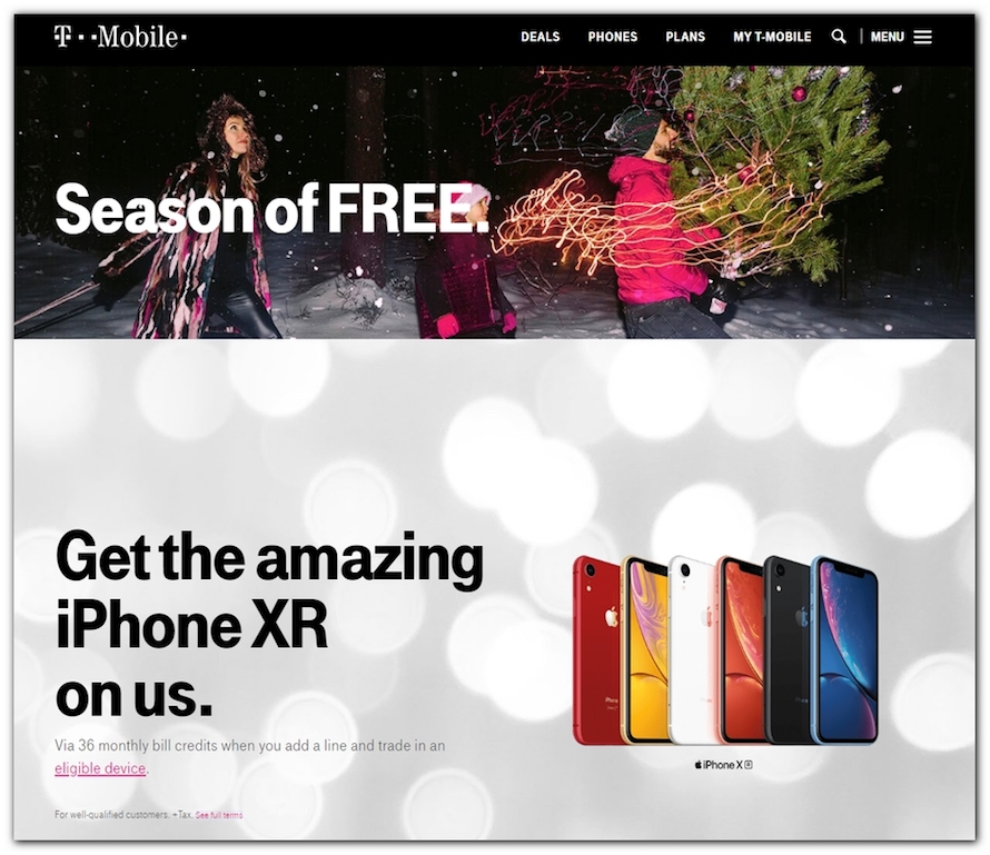 T-Mobile Black Friday Ad 2018 - Page 1