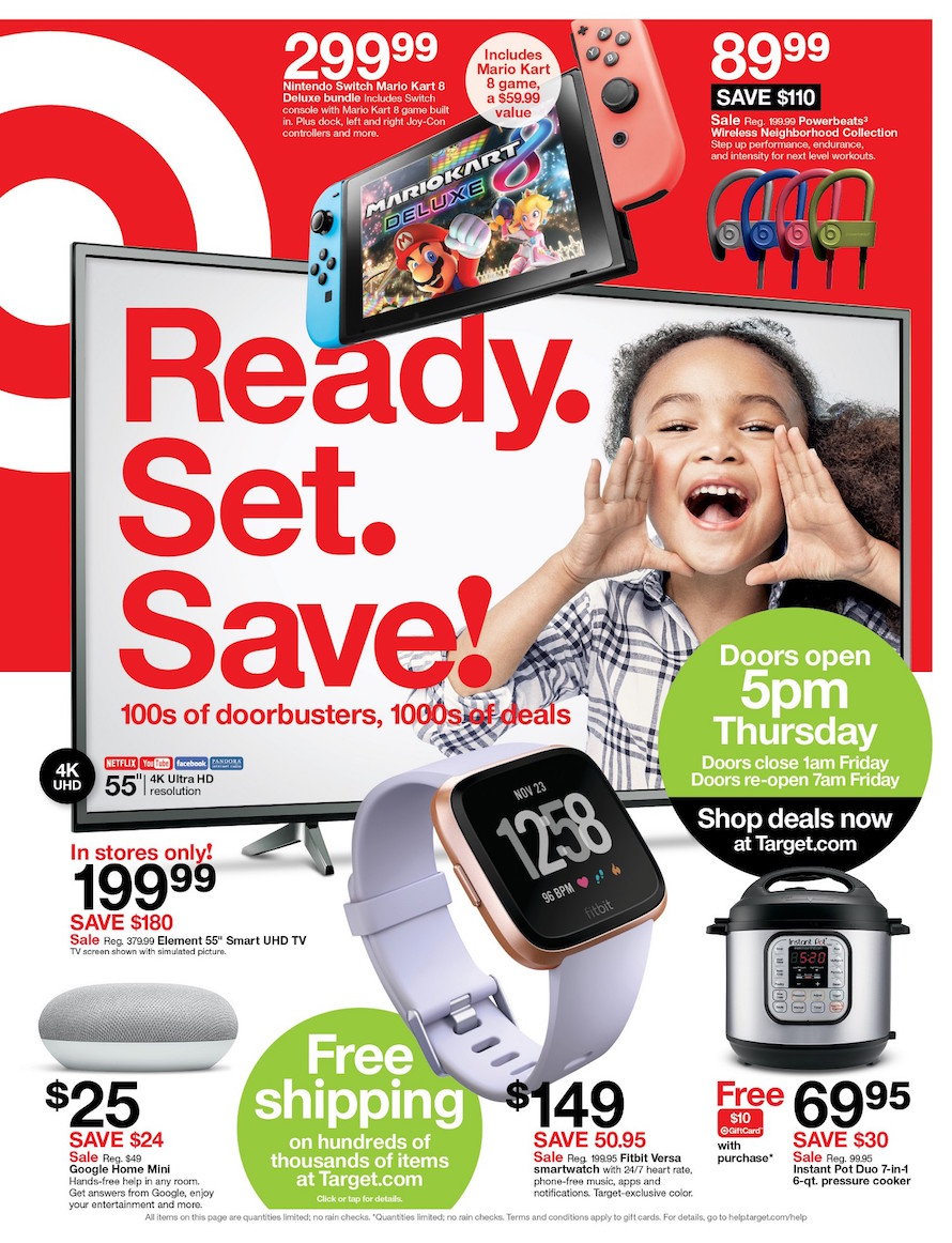 Target Black Friday Ad 2018 - Page 1