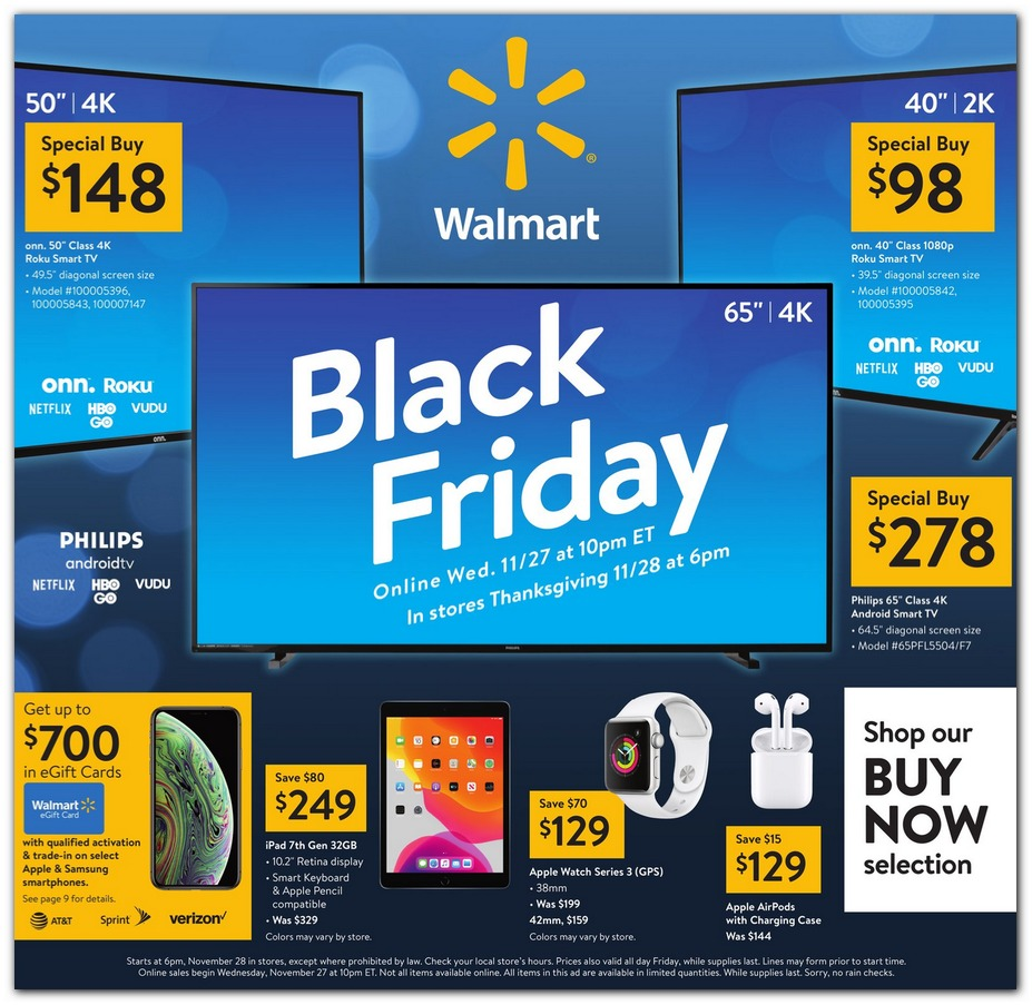 Walmart Black Friday 2019 Ad Is HERE!
