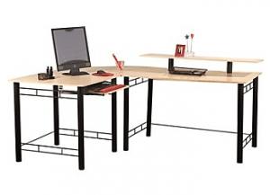 Z Line Gemini L Desk Only 49 99 At Staples Freebies2deals