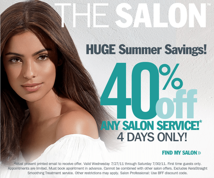 ulta haircut coupons save 40 on any salon service at ulta freebies2deals 2484 | freebies2deals ulta 40