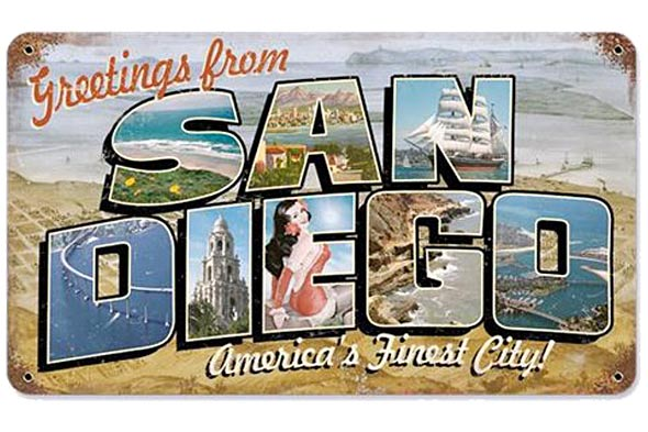 Greetings From San Diego Mural By Greetings Tour - MapQuest