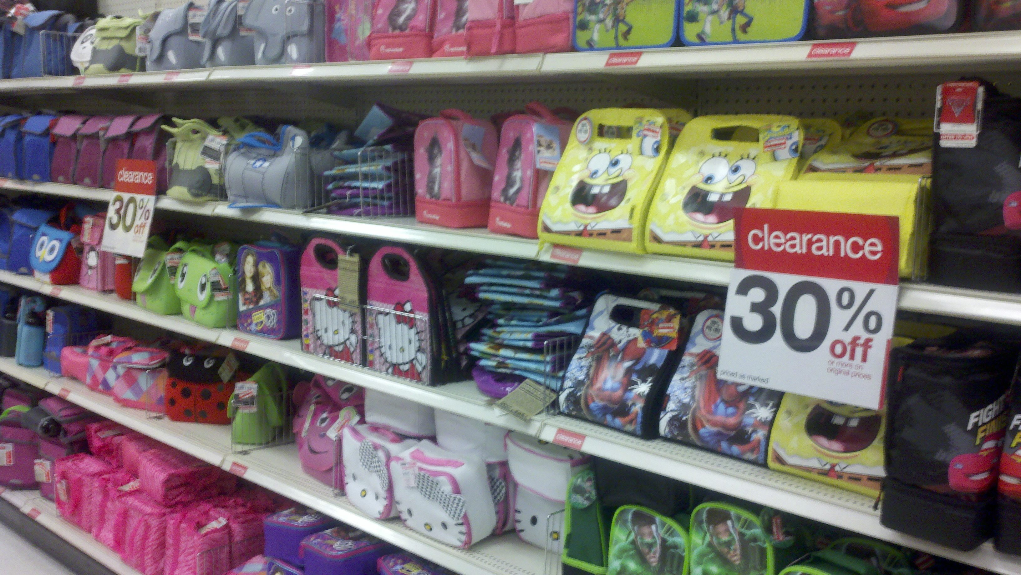 Target: Lunch Boxes Galore on Clearance! - Freebies2Deals