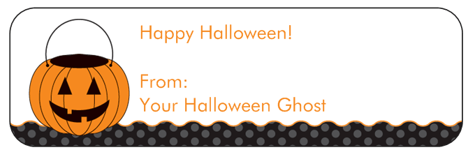 Still Working: 140 Free Halloween Treat Labels from