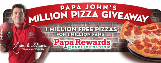 Papa Johns Coupons All Active Papa Johns Promo Codes & Coupons - Up To 50% off in December Papa Johns is known for its famous pizza and Superbowl commercials. The fourth largest pizza delivery restaurant in the U.S. operates over 4, locations around the globe. This free service of ours helps you find out about future deals from Papa 4/5(2).