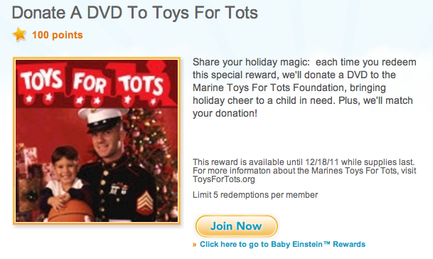 Toys For Tots Articles : Donate a dvd to toys for tots with your disney movie