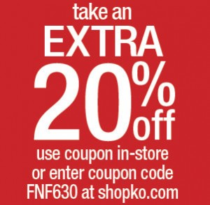 photo about Shopko Printable Coupons named 20% off Coupon at Shopko, On the web and Inside Retail store! Legitimate 10/23