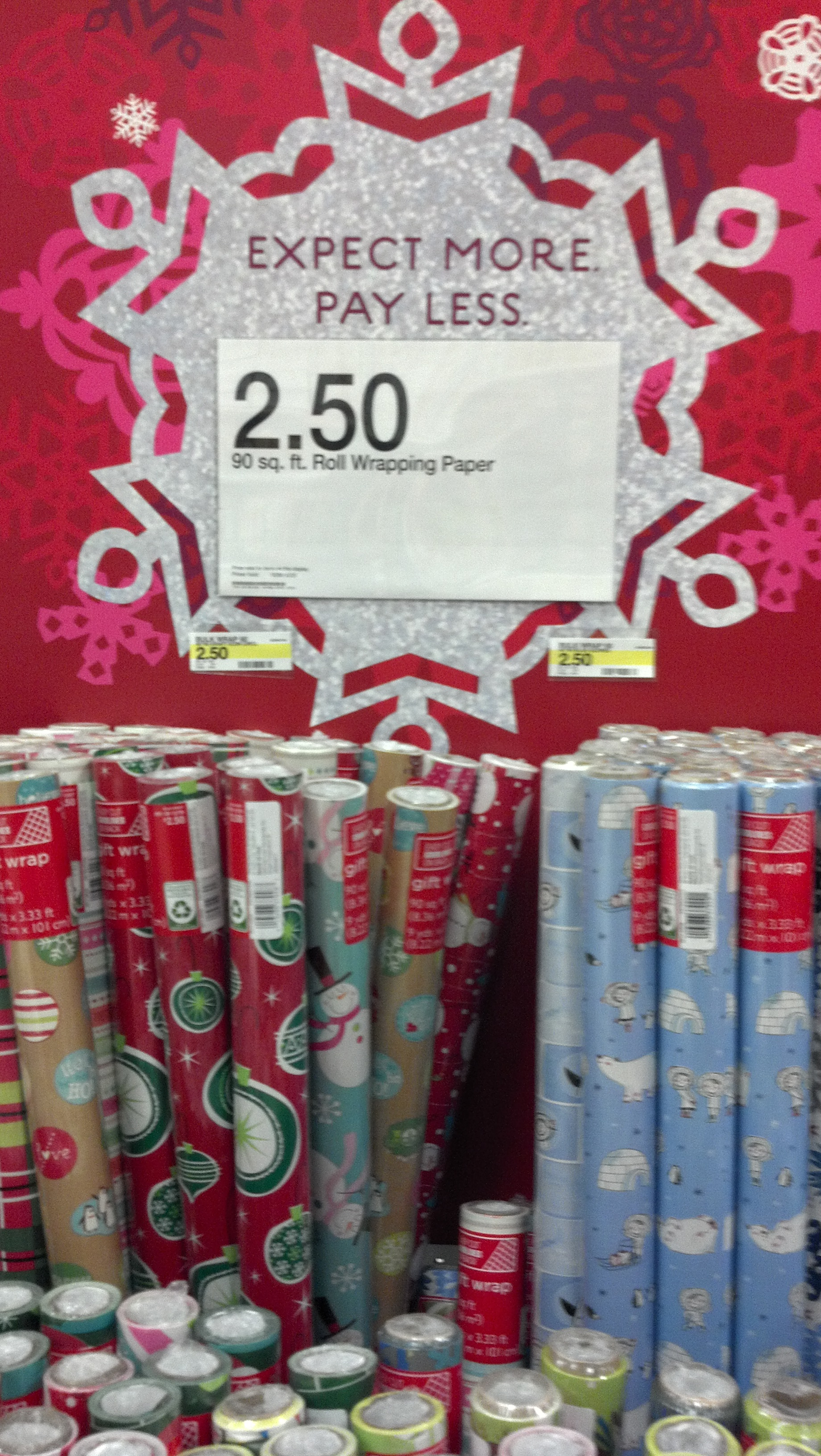 Awesome Wrapping Paper Deals at Target! - Freebies2Deals
