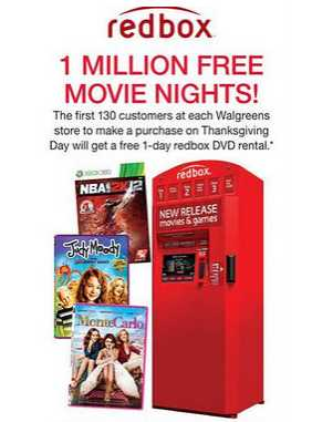 5 verified Redbox coupons and promo codes as of Dec 2. Popular now: Free 1 day DVD Rental or $ off Game/Blu-ray Rental (Text says second one free). Trust nmuiakbosczpl.ga for Movies savings.