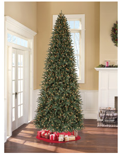 12 Foot Pre-Lit Christmas Tree $99.00! - Freebies2Deals