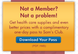 Similar to the One Day Pass, you can also shop online at the Sam's Club website, helmbactidi.ga, with a 10% non-member service fee up-charge (Costco has a similar up-charge, but it is only 5%). You can do this via a guest registration.