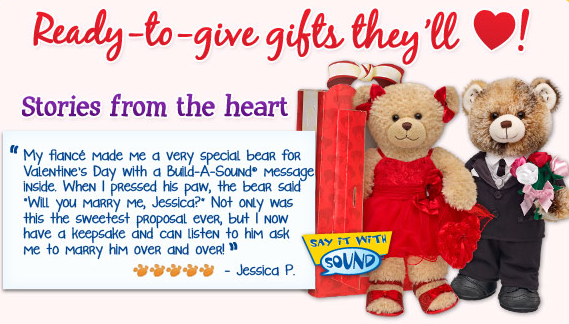 build a bear 5 off a 25 purchase or 10 off a 40 purchase freebies2deals. Black Bedroom Furniture Sets. Home Design Ideas