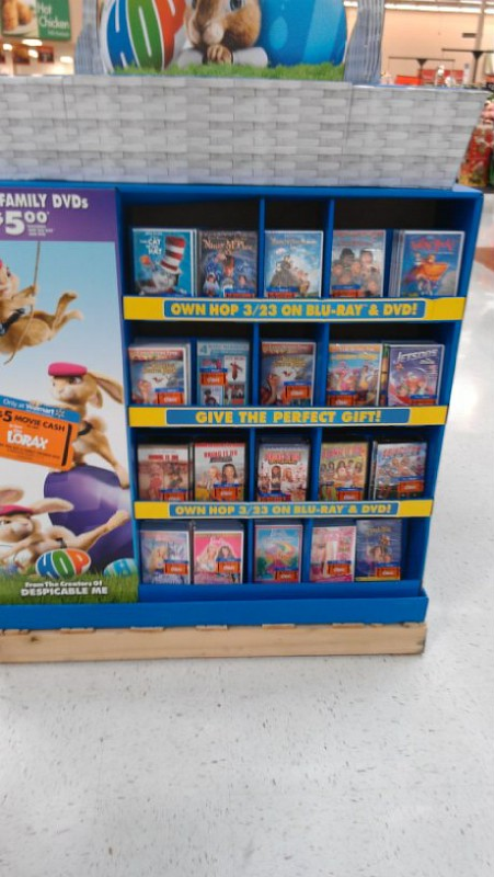 purchase a 5 dvd at walmart amp get 5 off a lorax movie