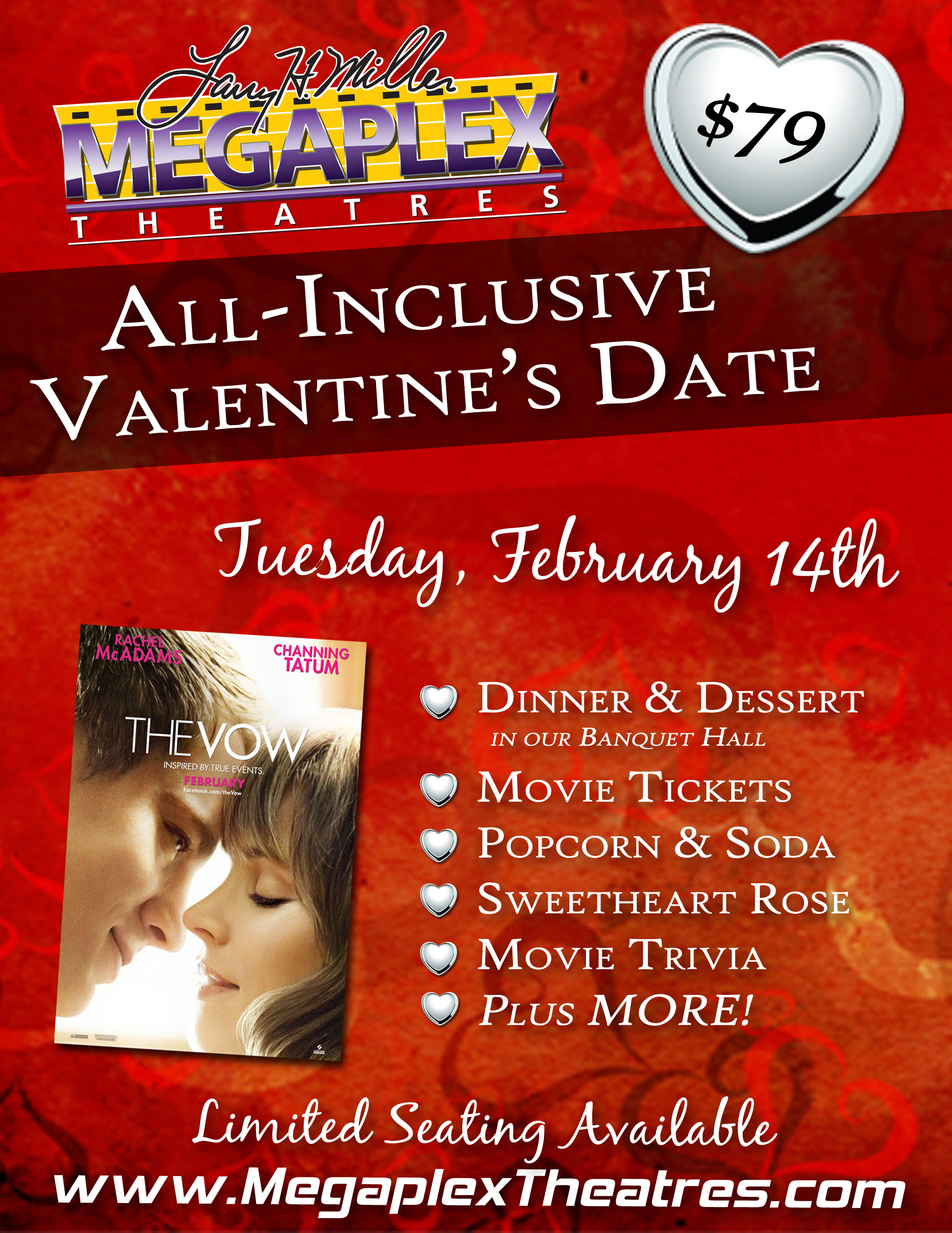 Utah Readers Only 79 For An All Inclusive Valentine S Dinner