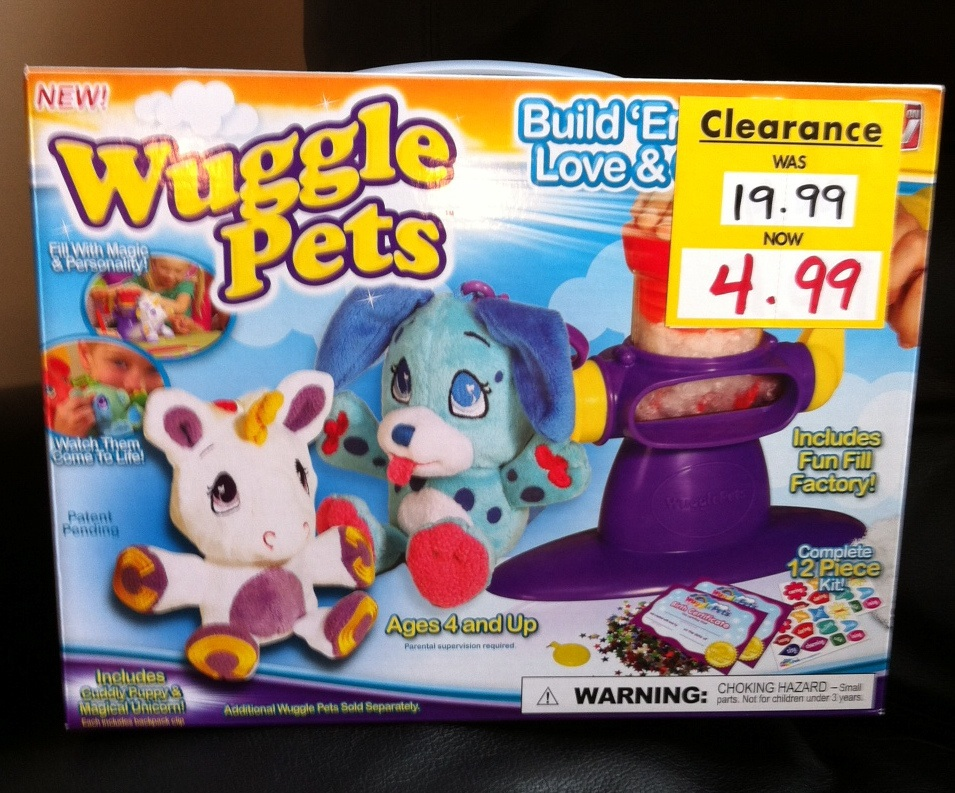 Wuggle Pets 75 Off At Bed Bath Amp Beyond Get One For Only