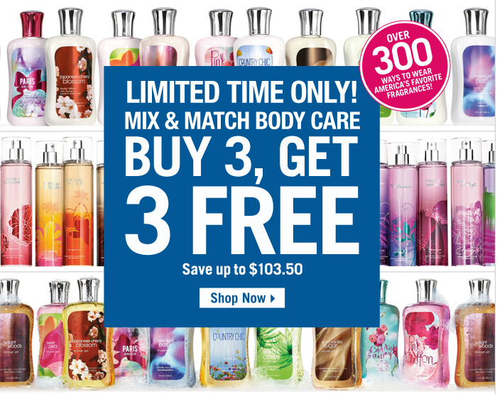Bath & Body Works: 20% Off Your Entire Purchase In Store or Online ...