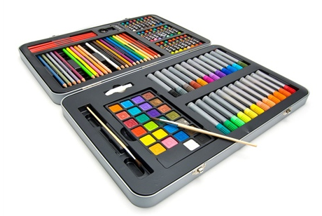 Art 101 107 piece set with metal case only 22 99 shipped