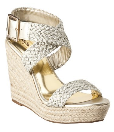 77cb1ce31 Mossimo Women s Pam Rope Wedge Sandals Only  17.49 Shipped ...