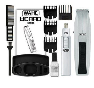 wahl beard mustache battery operated trimmer only shipped freebies2deals. Black Bedroom Furniture Sets. Home Design Ideas
