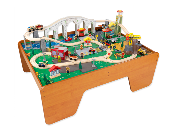 Today ...  sc 1 st  Freebies2Deals & KidKraft Town u0026 Train Table Set Only $104.99 Shipped! - Freebies2Deals