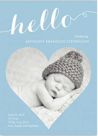 3 FREE Birth Announcements from Cardstore.com! - Freebies2Deals