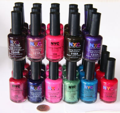 Get three nyc nail polish for free at rite aid no coupons required