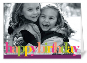 Its back free customized 5x7 greeting card from shutterfly shutterfly m4hsunfo