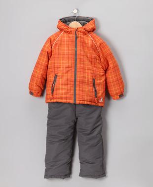 Zulily Rugged Bear Outwear Kids Coats Ski Snow Sets
