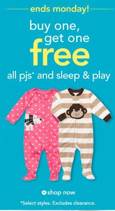 161018f15 Freebies2Deal-Carters-Pajamas - Freebies2Deals