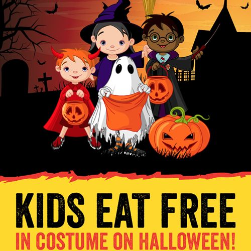 Dickeys BBQ FREE Kids Meal For Children In Costume On Halloween